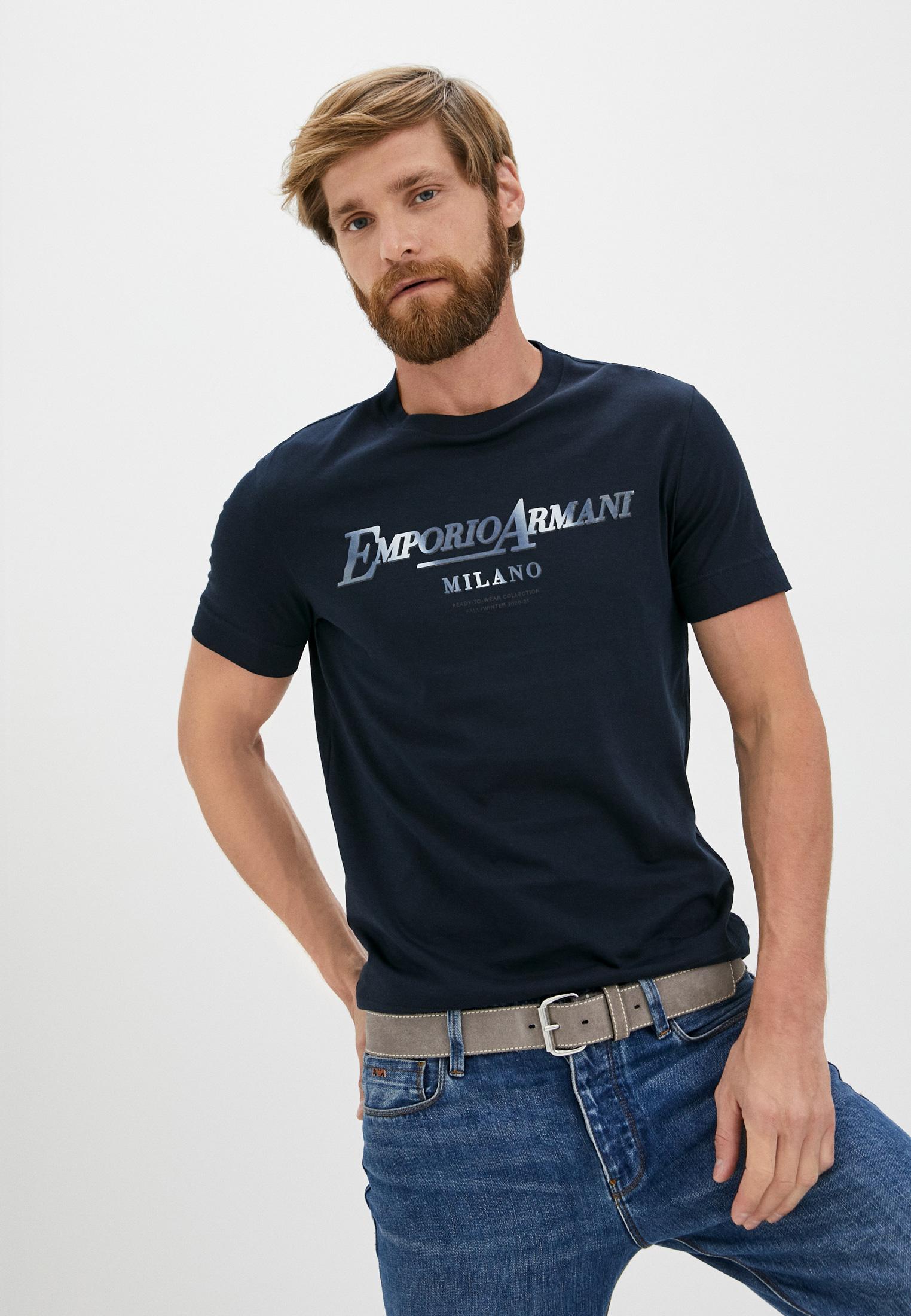 Мужская футболка Emporio Armani (Эмпорио Армани) 6h1tr7 1jshz
