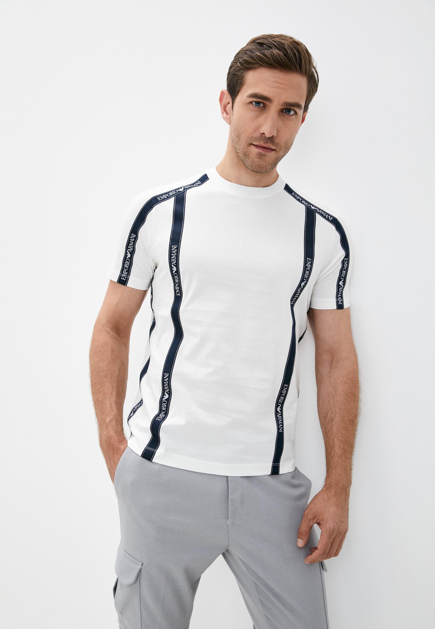 Мужская футболка Emporio Armani (Эмпорио Армани) 6h1tg4 1jtuz