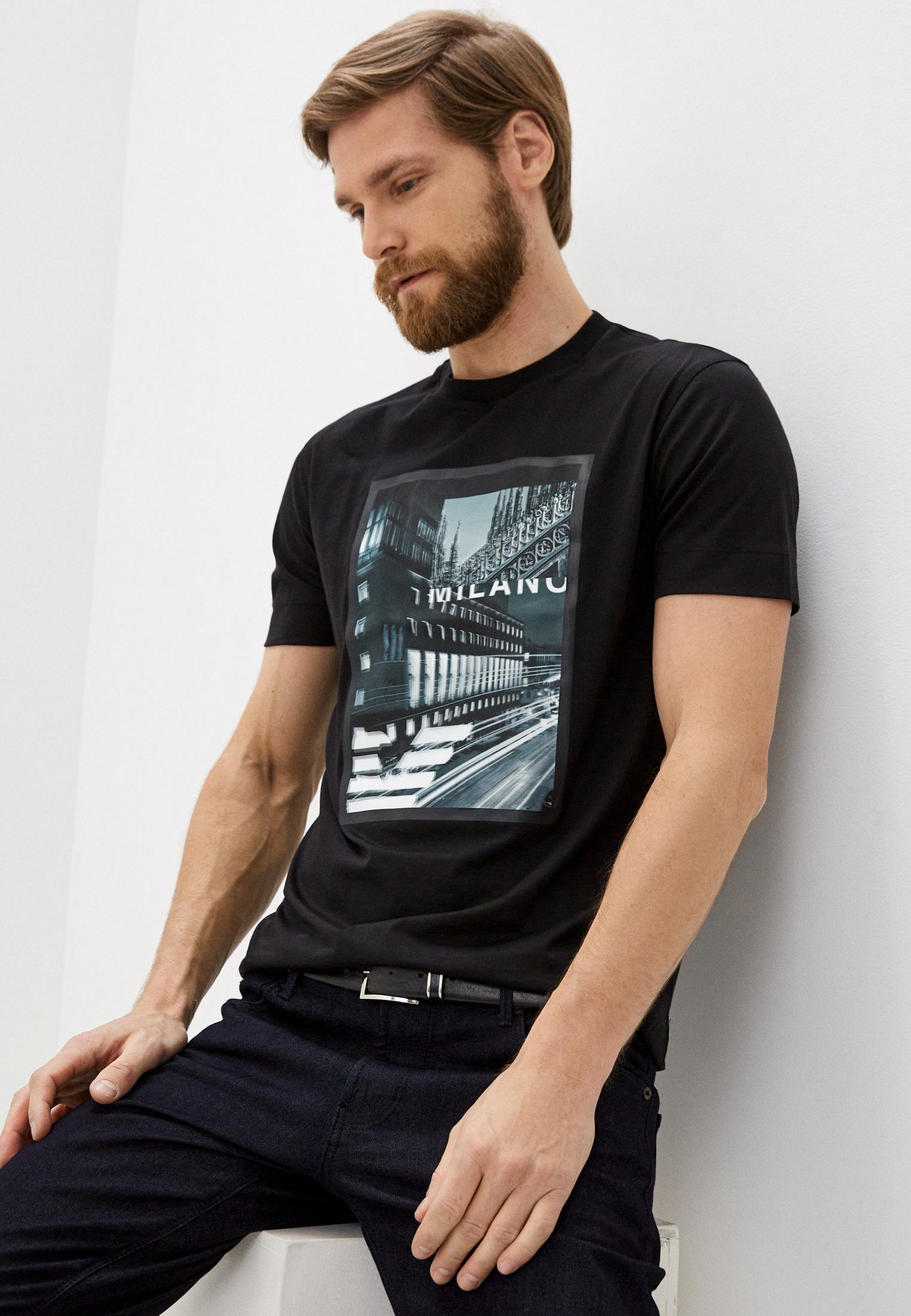 Мужская футболка Emporio Armani (Эмпорио Армани) 6h1ta3 1jdxz