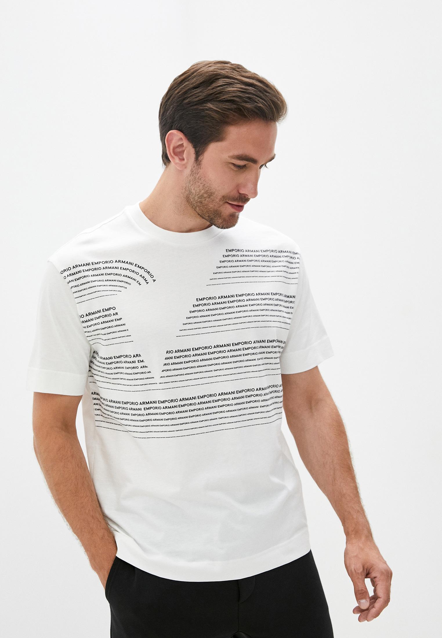 Мужская футболка Emporio Armani (Эмпорио Армани) 6h1t97 1jrkz