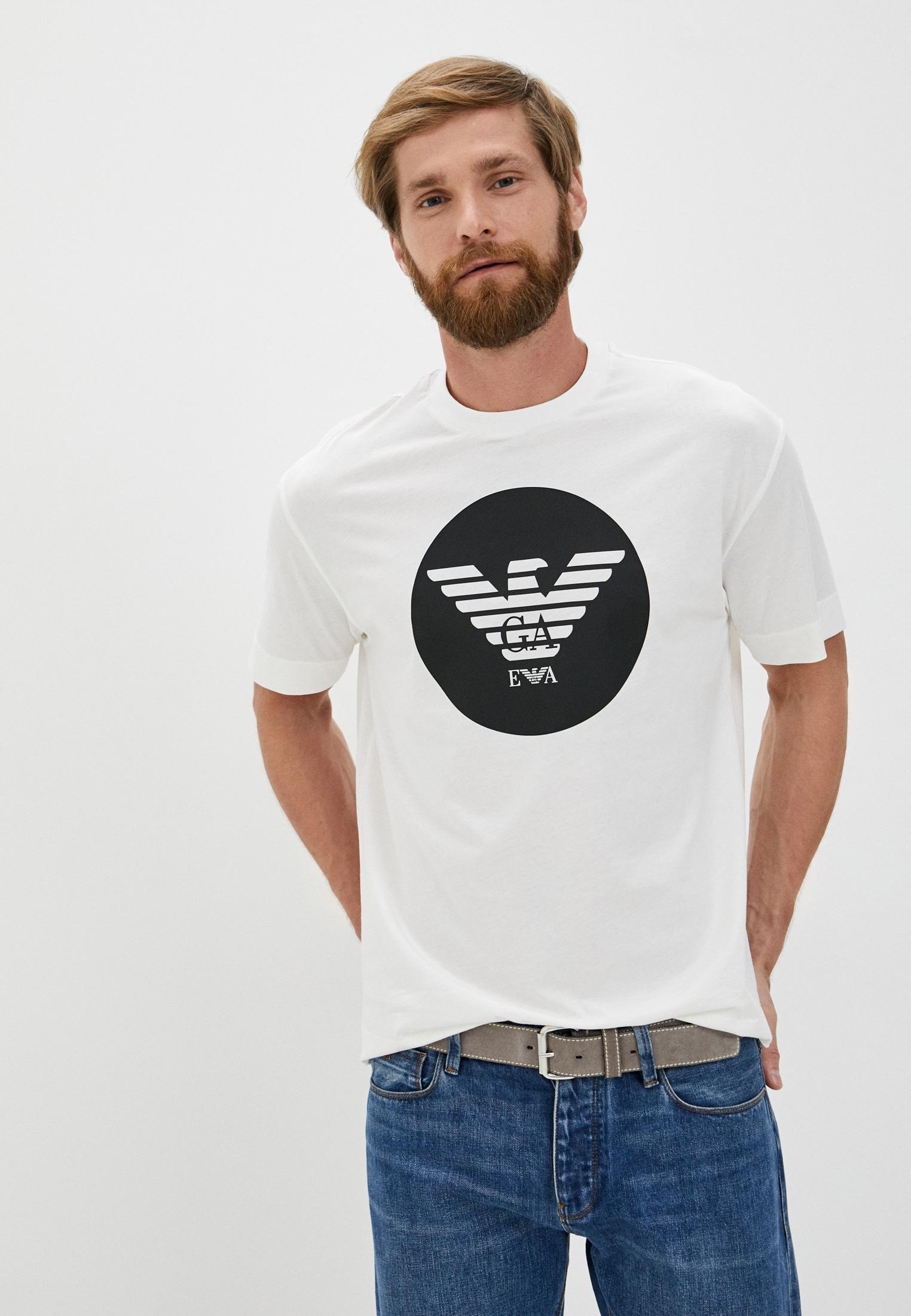 Мужская футболка Emporio Armani (Эмпорио Армани) 6h1t73 1jdxz