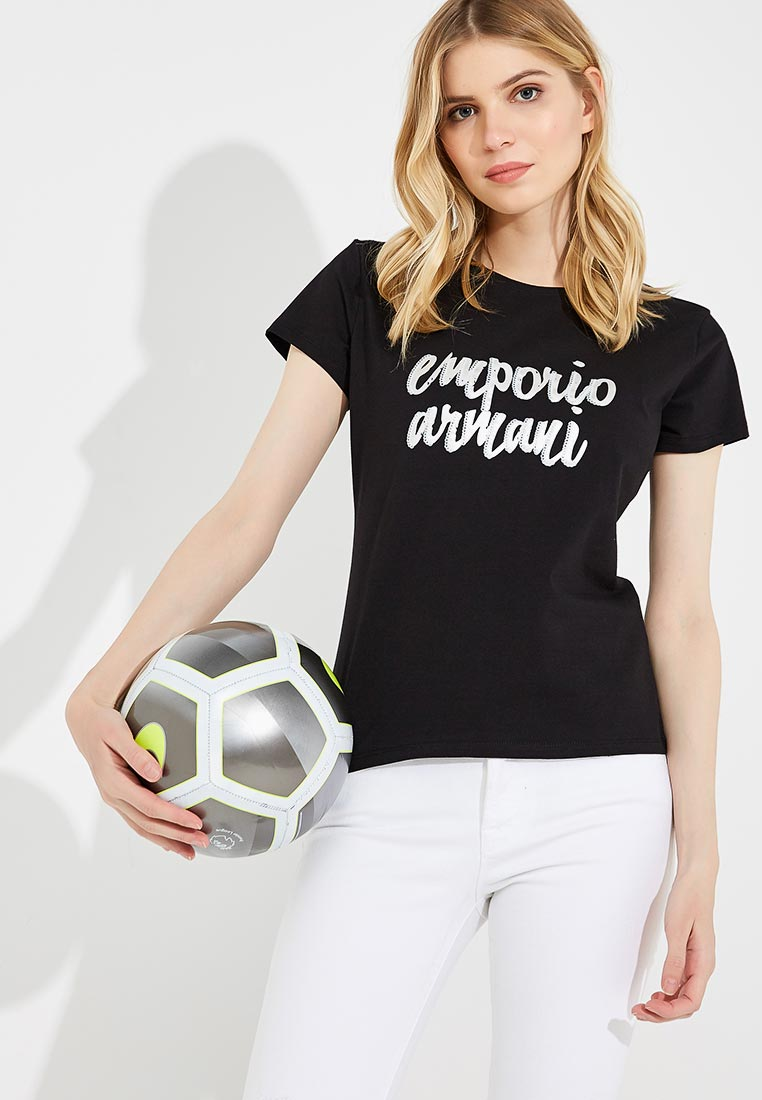 Футболка с коротким рукавом Emporio Armani (Эмпорио Армани) 6Z2T81 2JQAZ