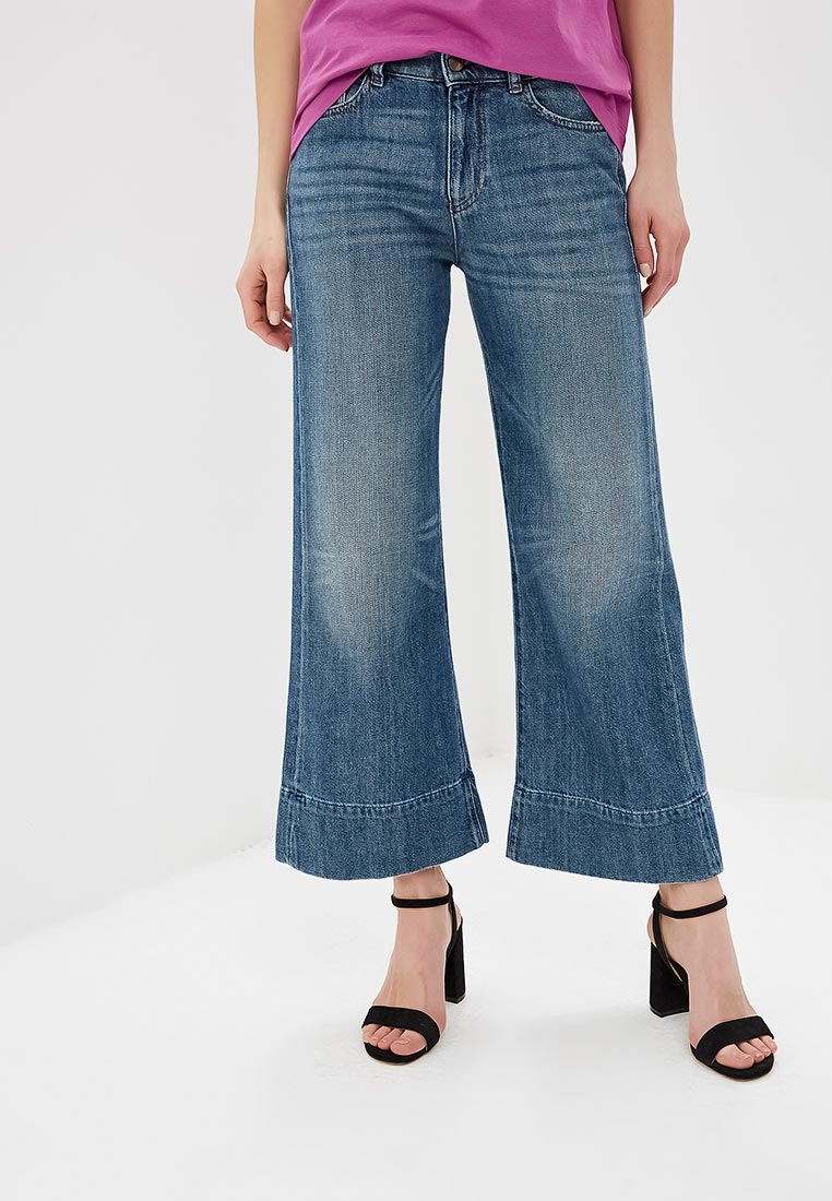 Широкие и расклешенные джинсы Emporio Armani 3G2J33 2D4SZ