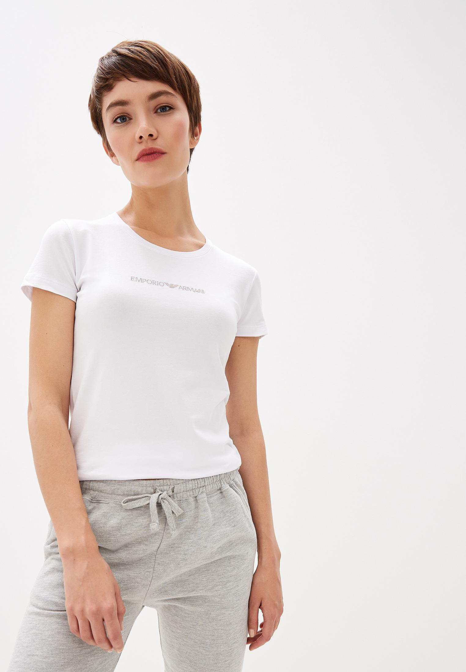 Домашняя футболка Emporio Armani 163139 9A263