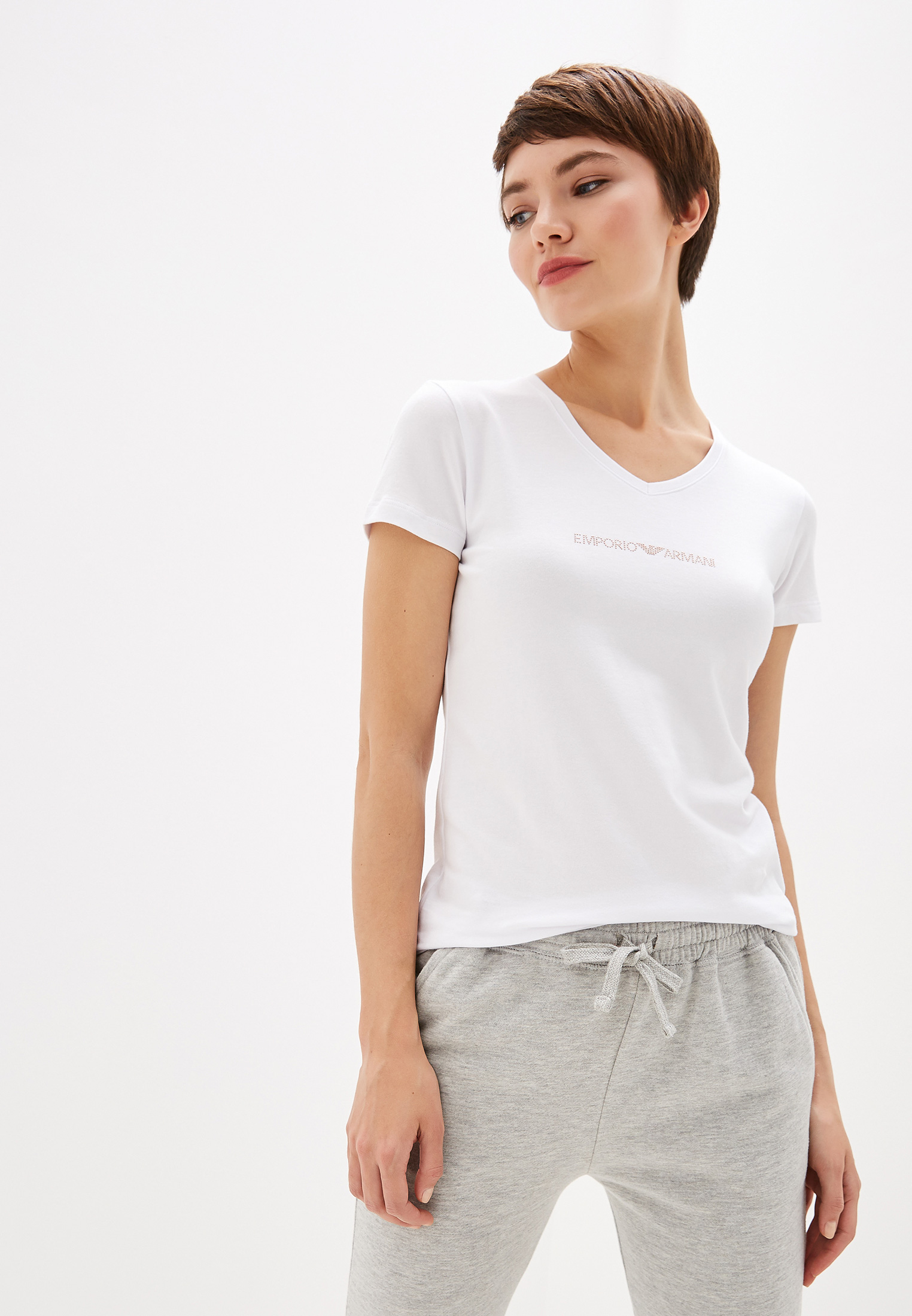 Домашняя футболка Emporio Armani 163321 9A263