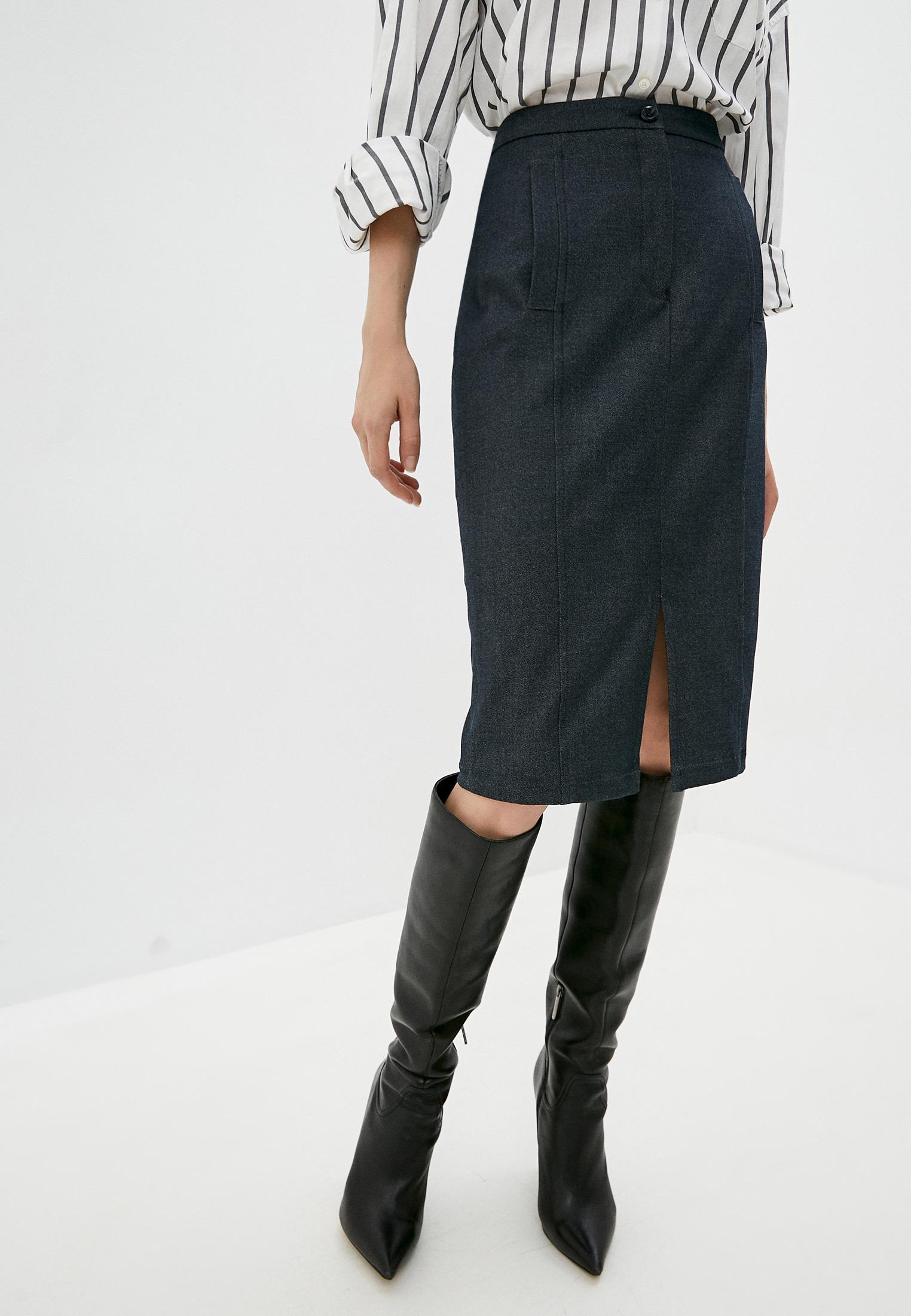 Прямая юбка Emporio Armani 6H2N78 2N7MZ