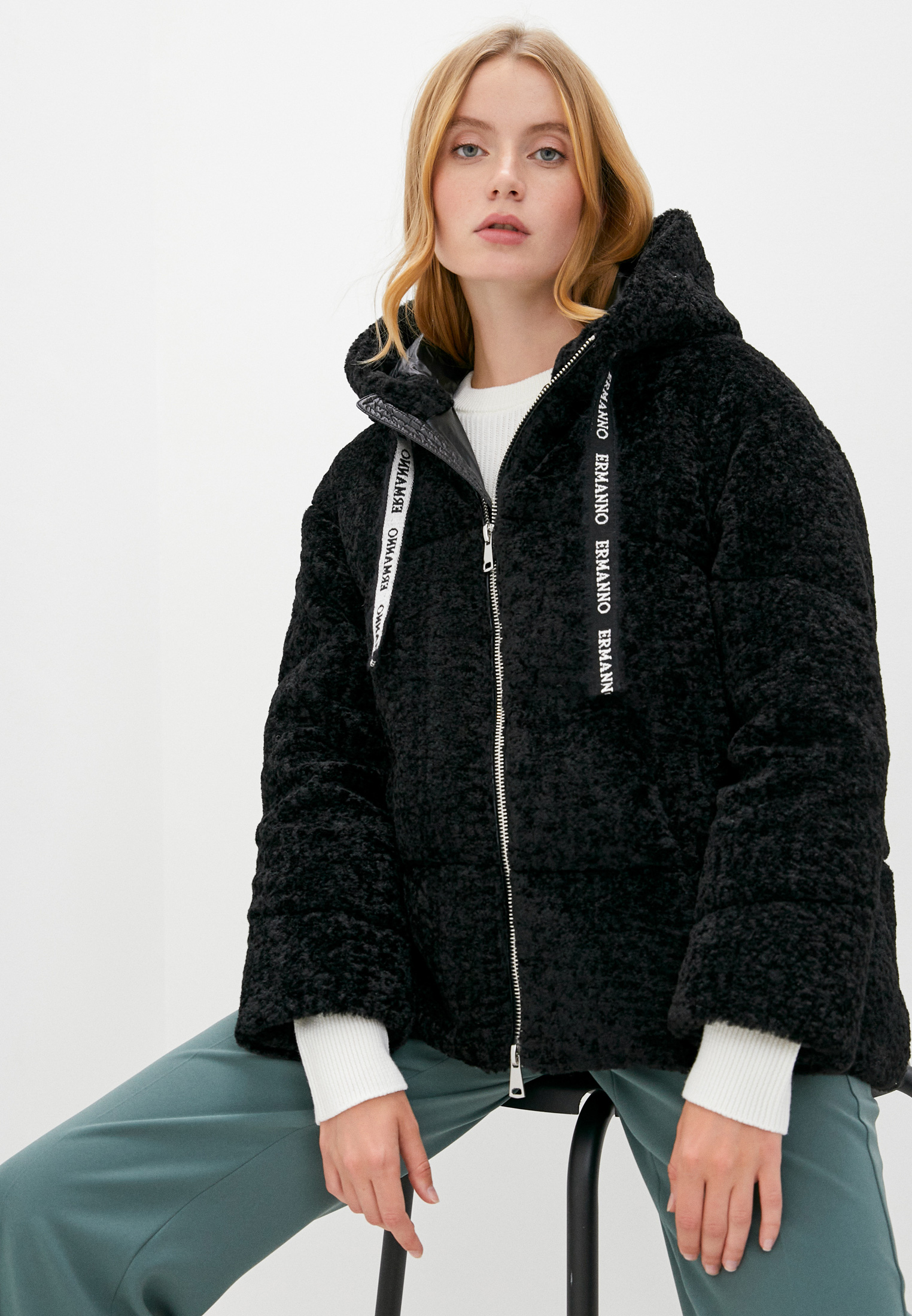 Утепленная куртка ERMANNO Ermanno Scervino PN11MLF