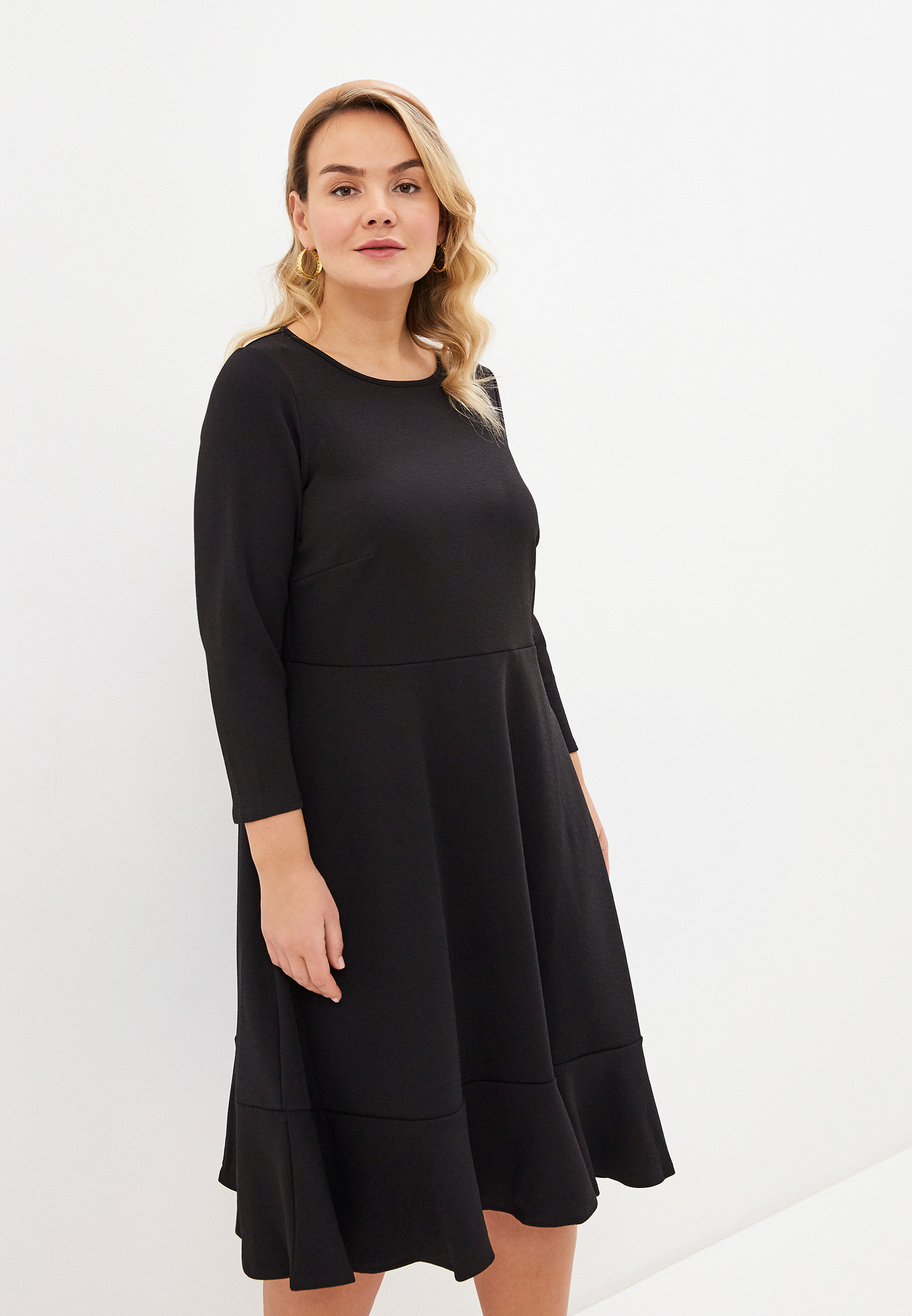 Повседневное платье Evans 04S03JBLK