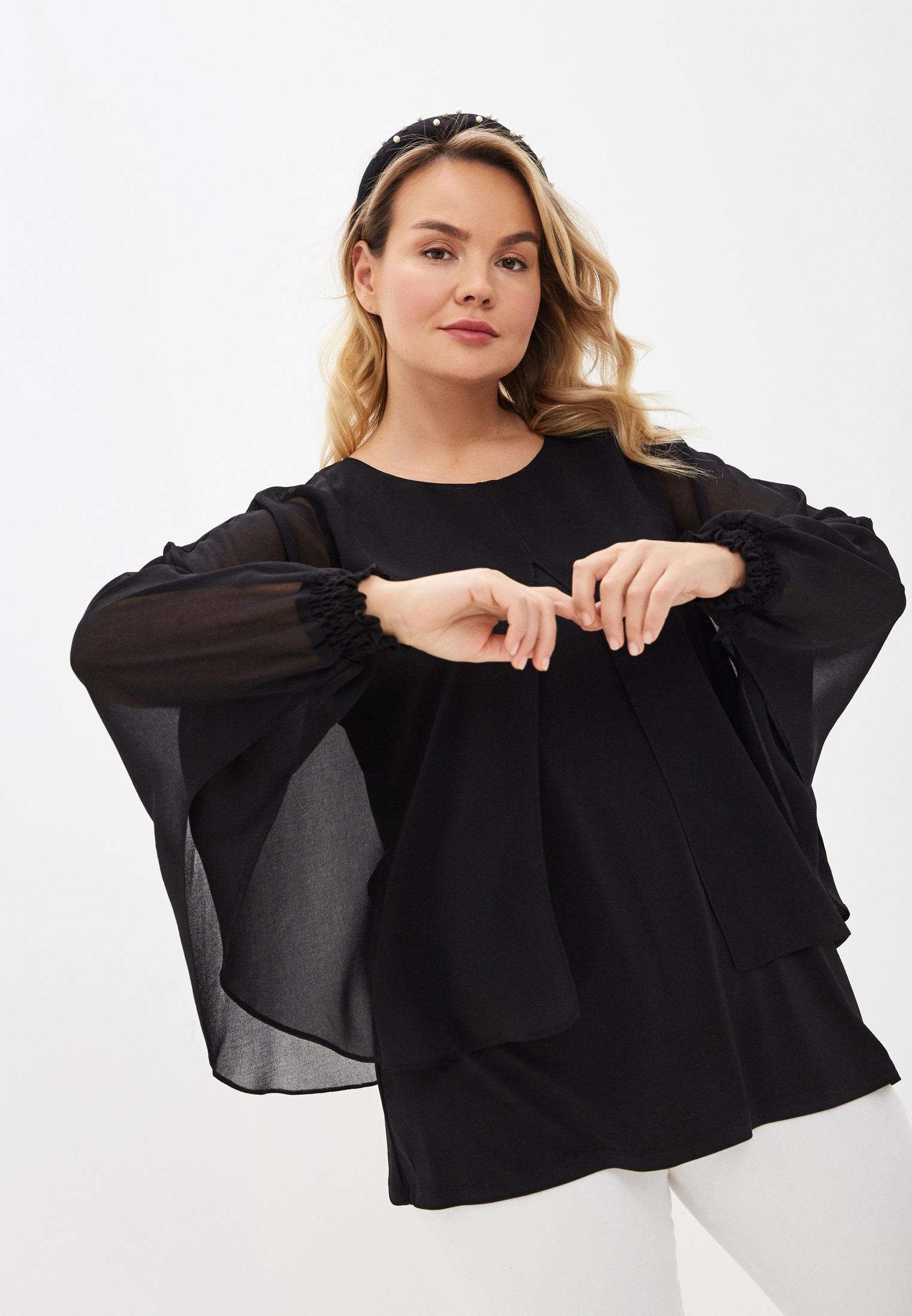 Блуза Evans 08A07LBLK