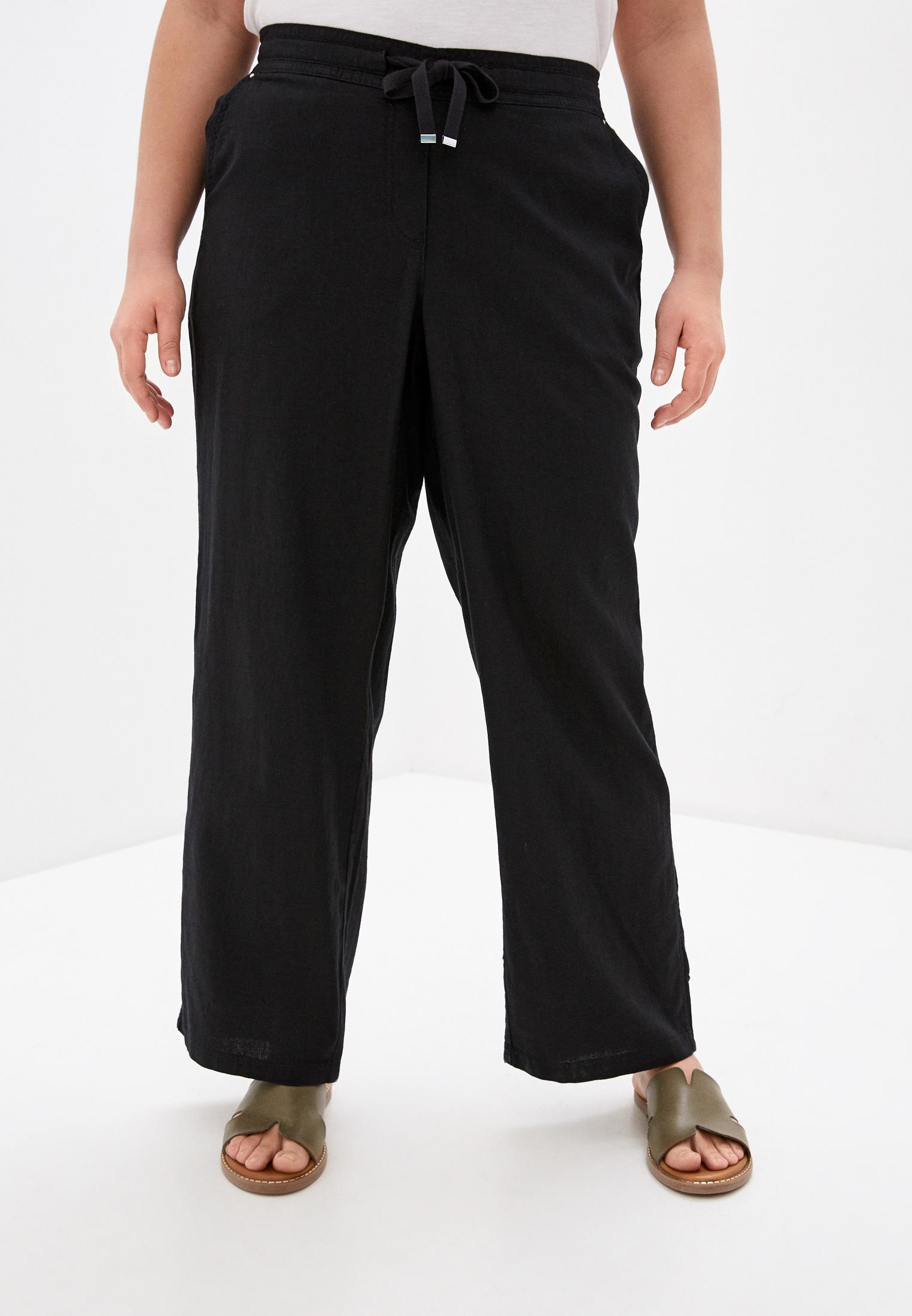 Женские прямые брюки Evans 34R11EBLK