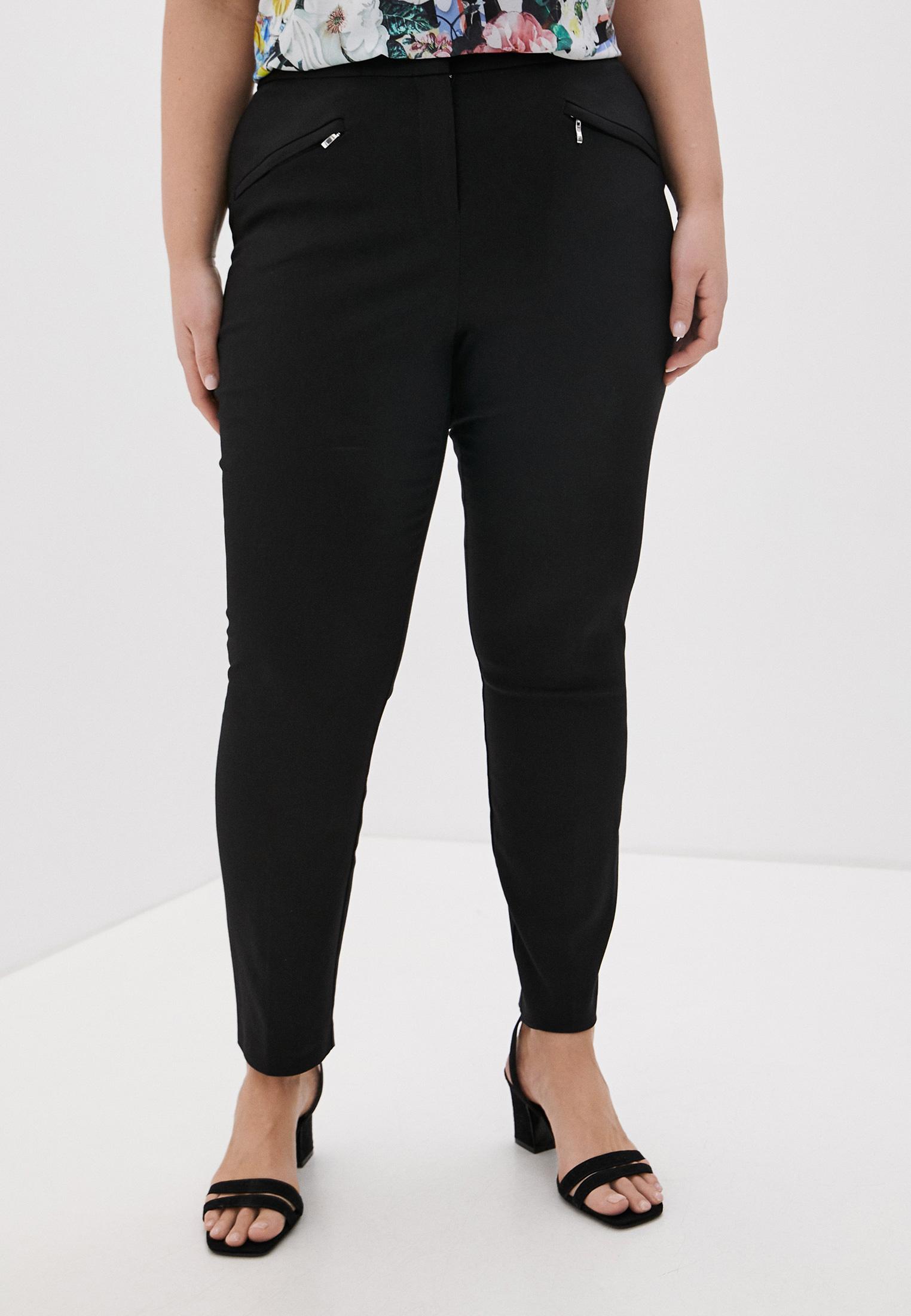 Женские зауженные брюки Evans 03R03EBLK
