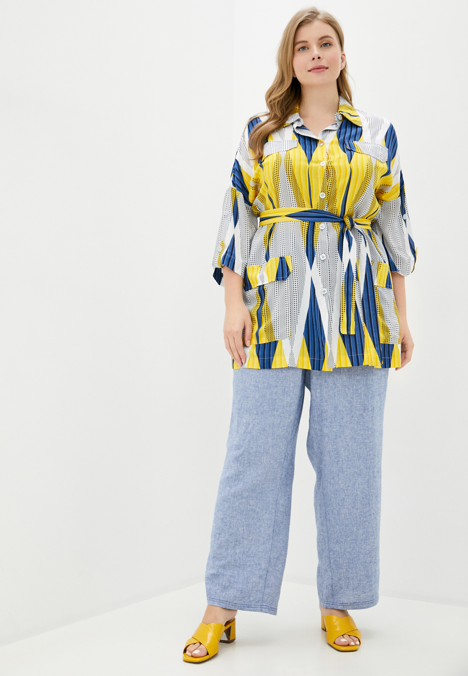 Женские прямые брюки Evans 34R06EMUL: изображение 2