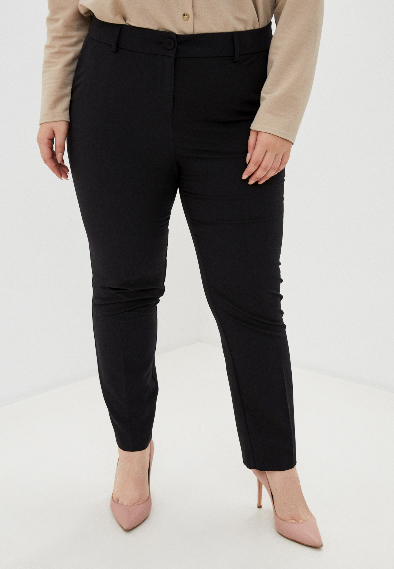 Женские прямые брюки Evans 03R41DBLK