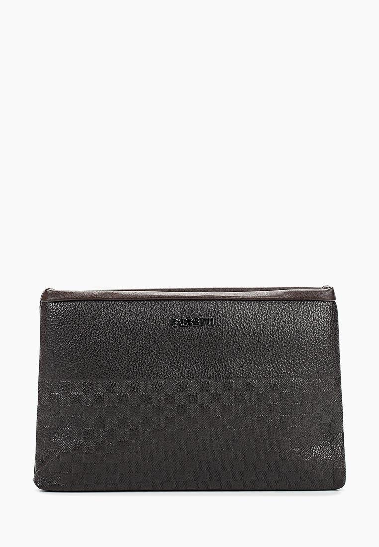 Несессер Fabretti B17027-2D brown