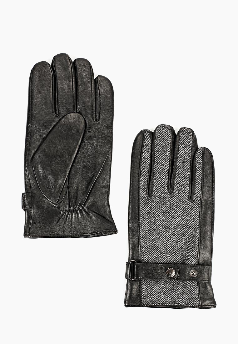 Мужские перчатки Fabretti (Фабретти) S1.43-1 black