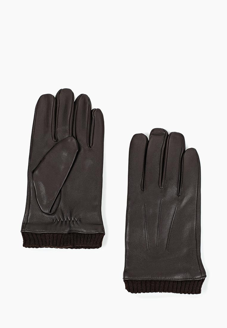 Мужские перчатки Fabretti (Фабретти) 12.46-2 chocolat