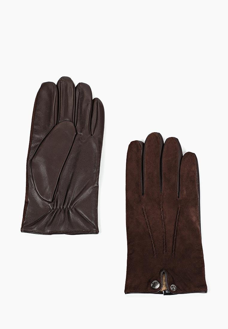 Мужские перчатки Fabretti FM1-2 brown