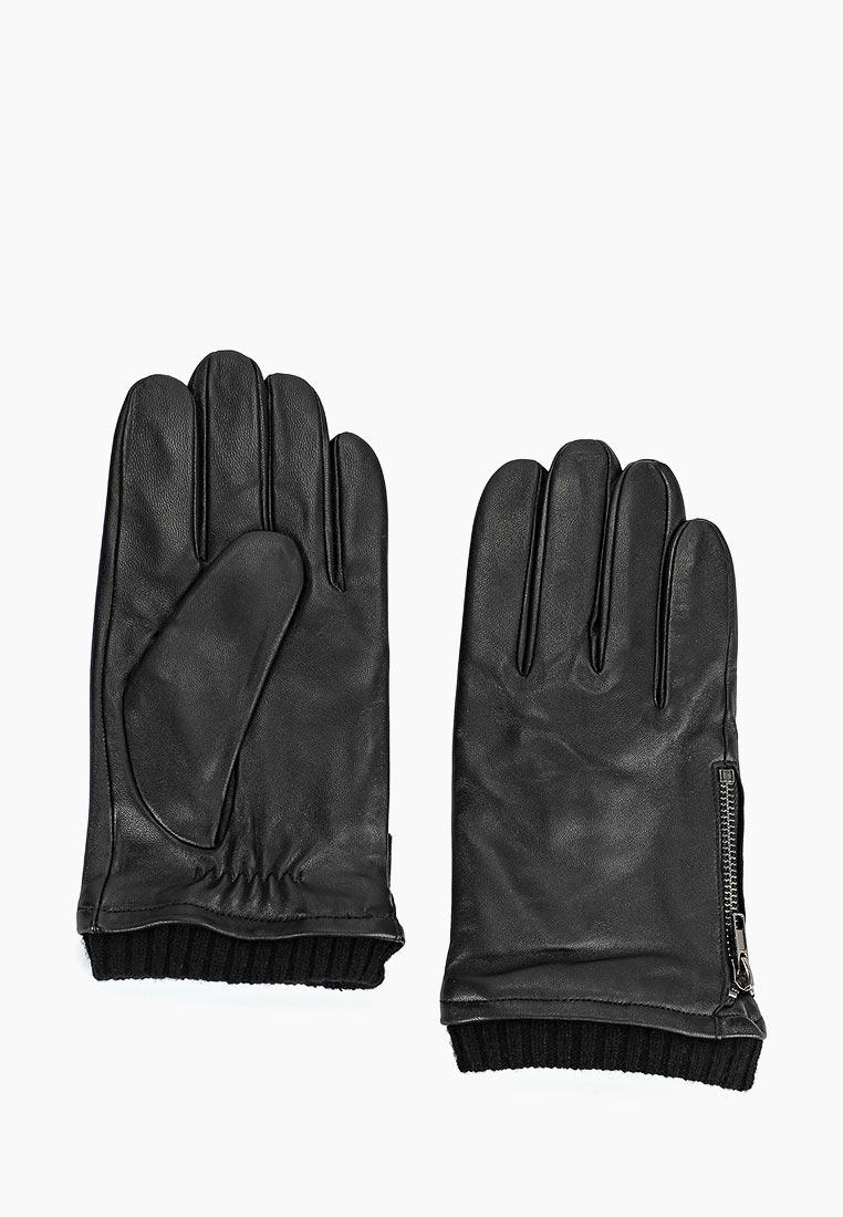 Мужские перчатки Fabretti (Фабретти) S1.42-1 black