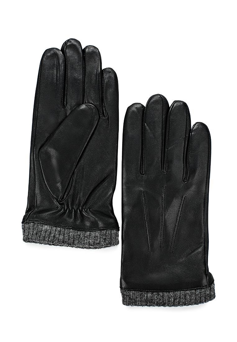 Мужские перчатки Fabretti (Фабретти) 12.46-1 black