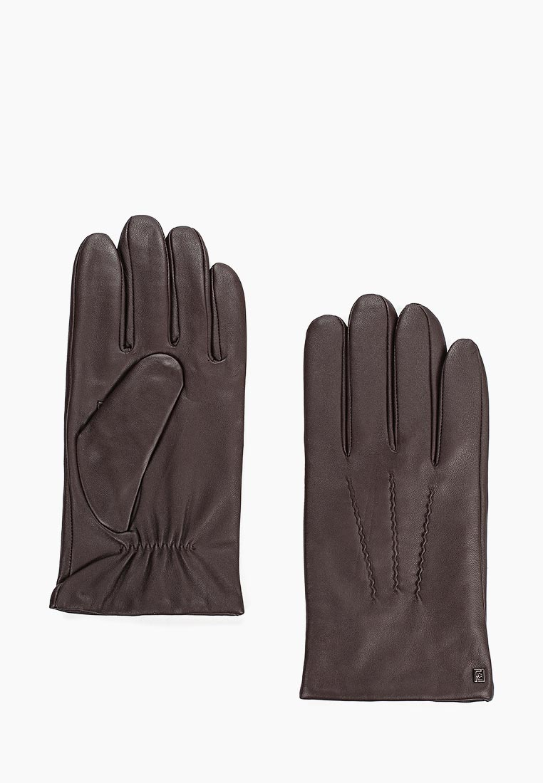 Мужские перчатки Fabretti S1.36-2 chocolat