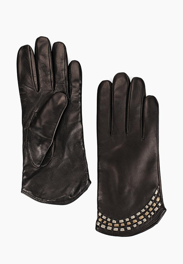 Женские перчатки Fabretti (Фабретти) 12.34-1/26 black