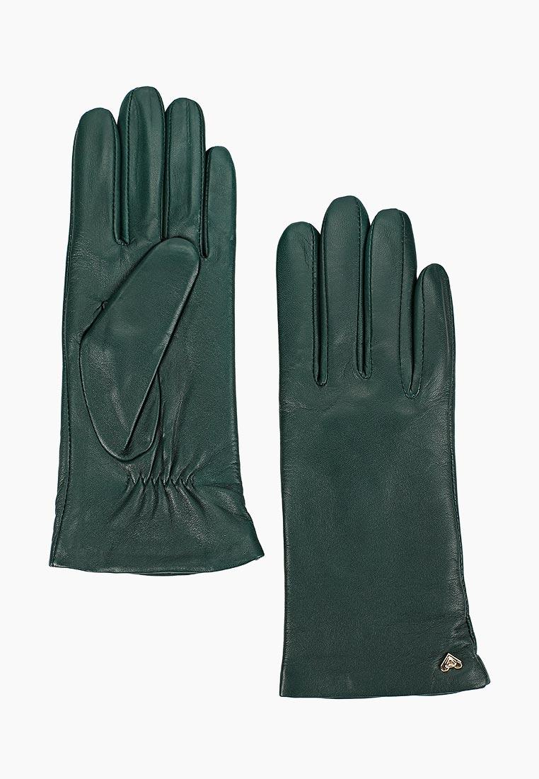 Женские перчатки Fabretti (Фабретти) 12.77-15 green