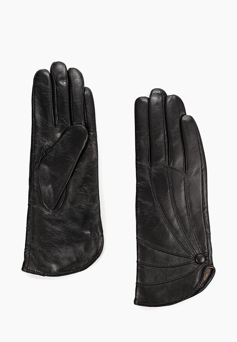 Женские перчатки Fabretti (Фабретти) B7-1 black
