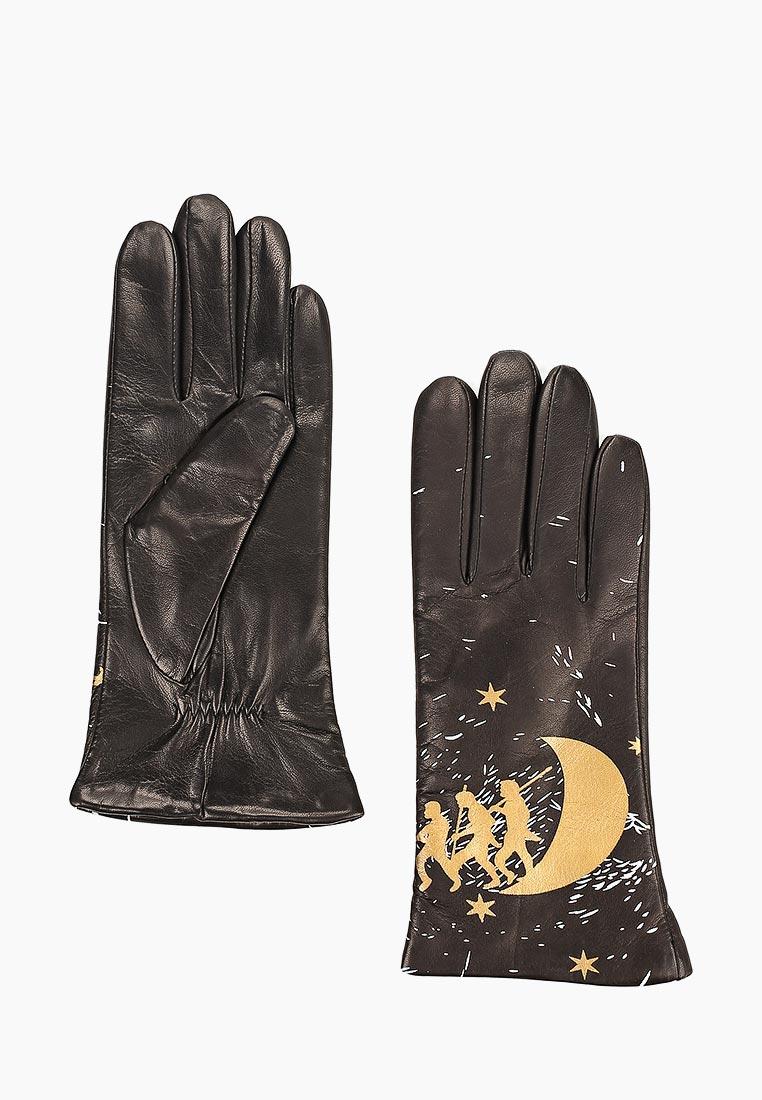 Женские перчатки Fabretti (Фабретти) F17-1 black