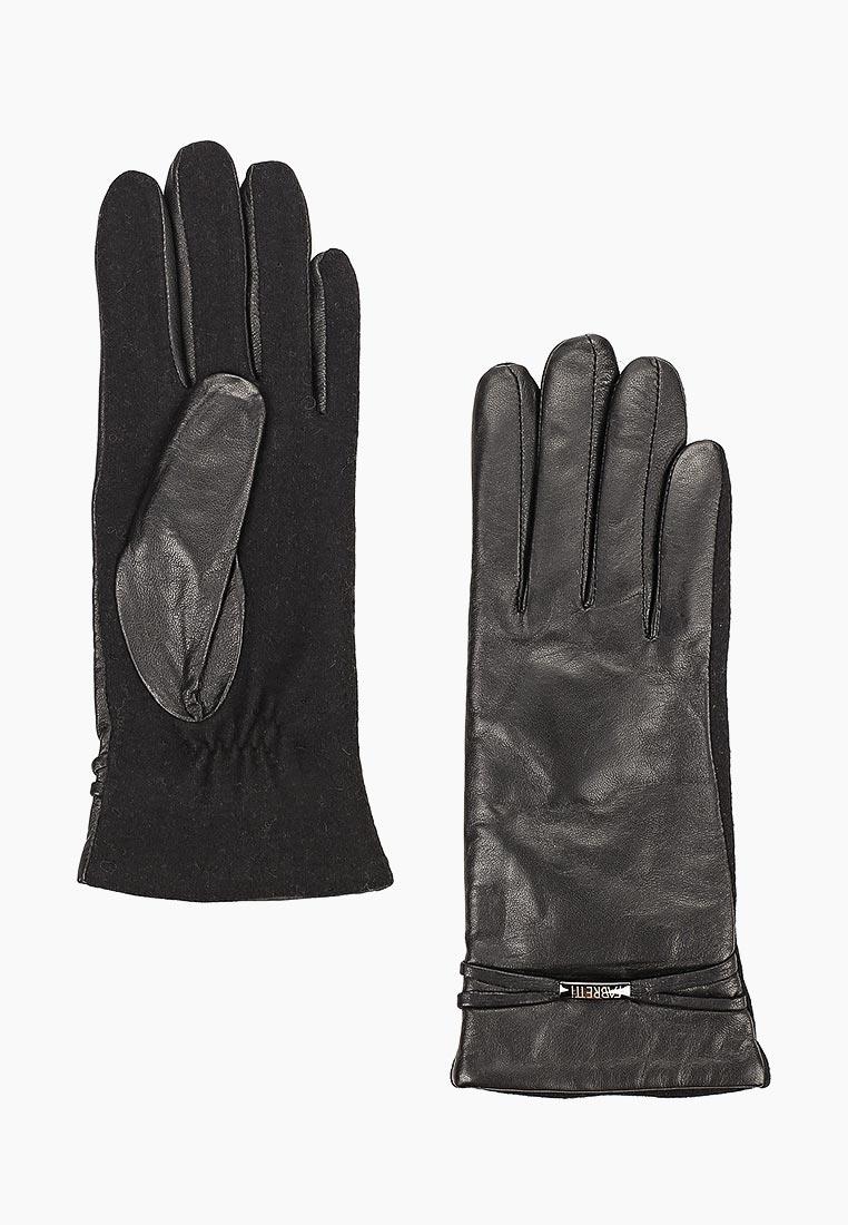 Женские перчатки Fabretti (Фабретти) 33.1-1 black