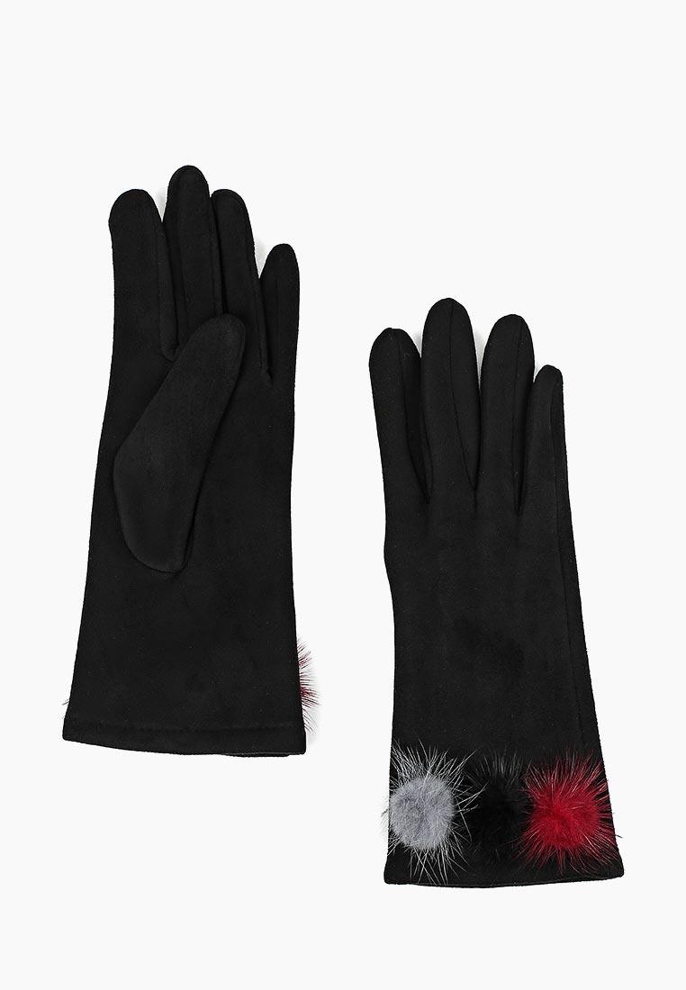 Женские перчатки Fabretti (Фабретти) HB2018-14-black