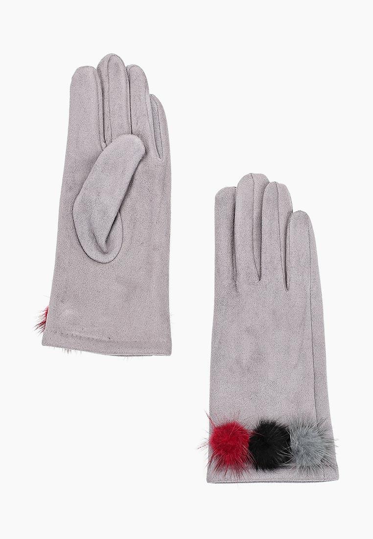 Женские перчатки Fabretti (Фабретти) HB2018-14-lt.gray