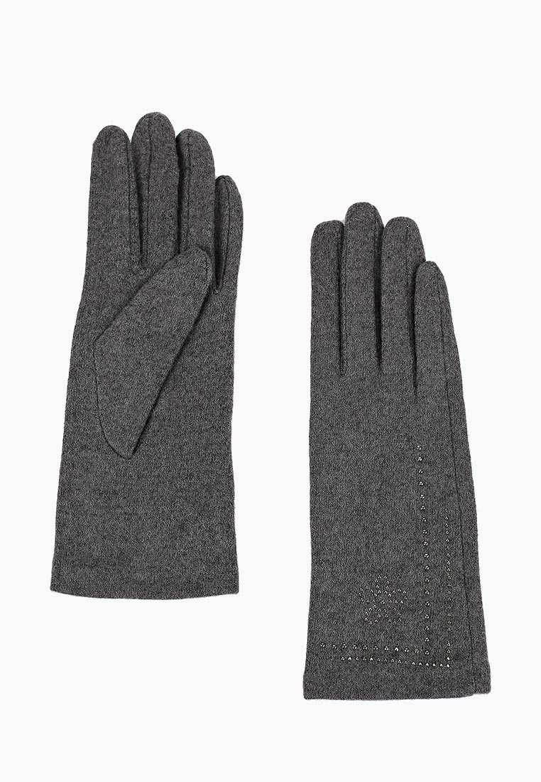Женские перчатки Fabretti (Фабретти) HB2018-25-gray