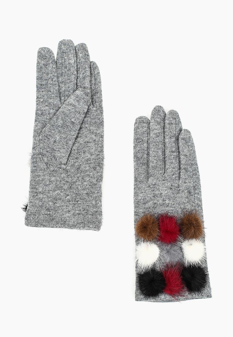 Женские перчатки Fabretti HB2018-28-lt.gray