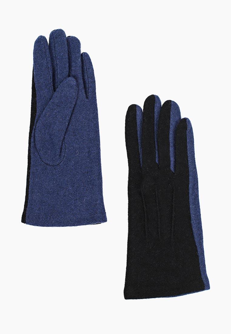 Женские перчатки Fabretti (Фабретти) HB2018-32-black/navy