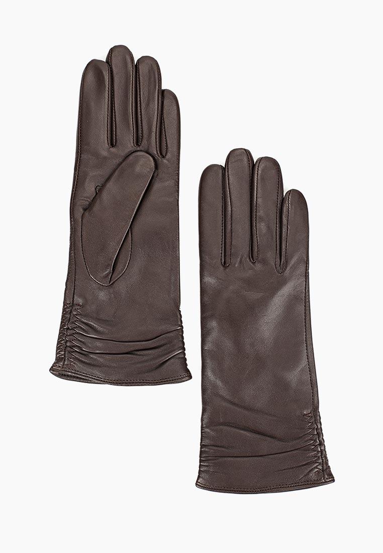 Женские перчатки Fabretti (Фабретти) 12.25-2 chocolate