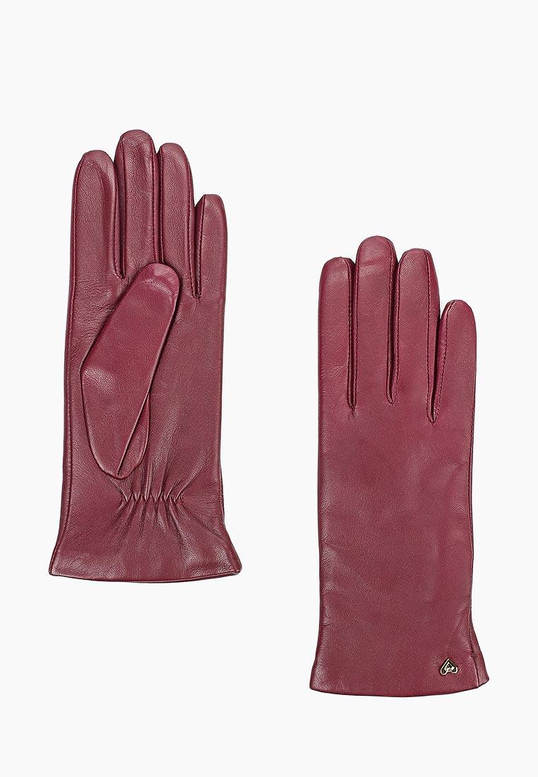Женские перчатки Fabretti (Фабретти) 12.77-8 wine