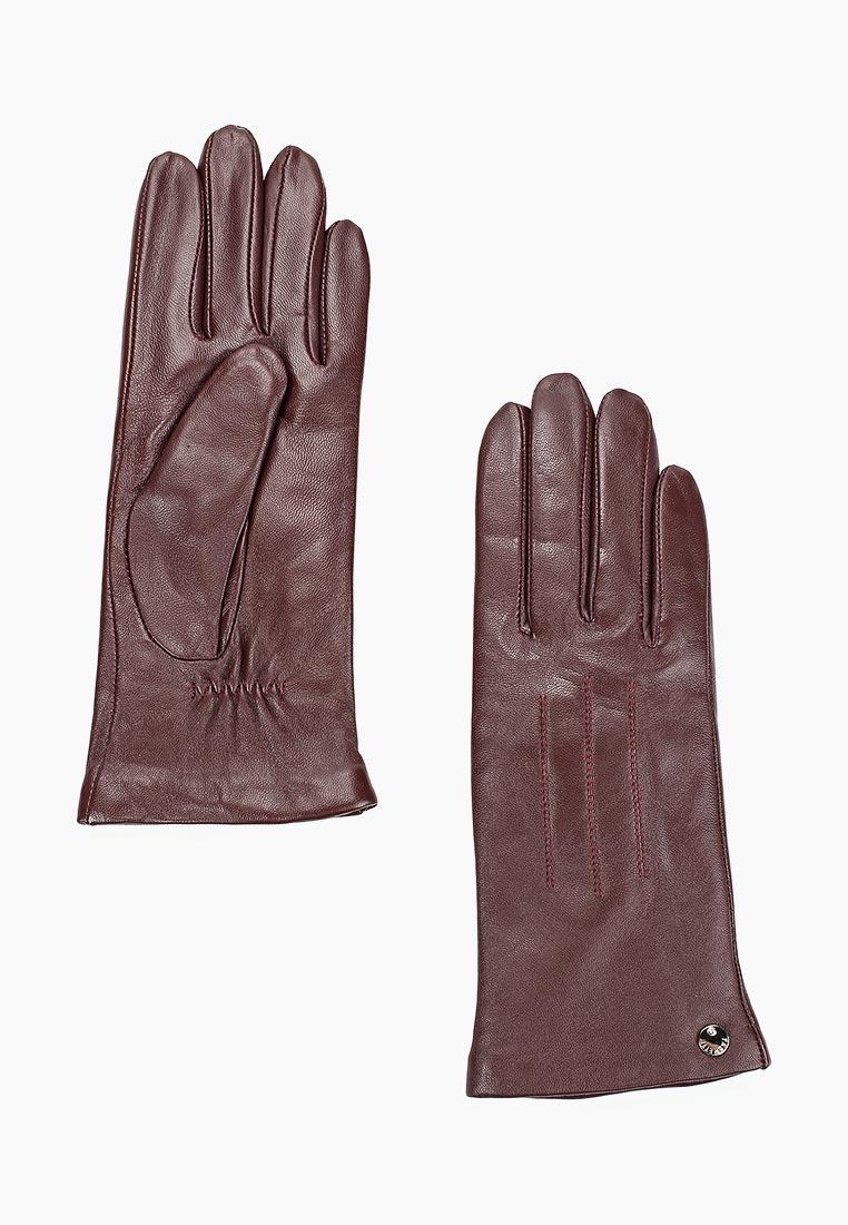 Женские перчатки Fabretti (Фабретти) S1.41-8 bordo