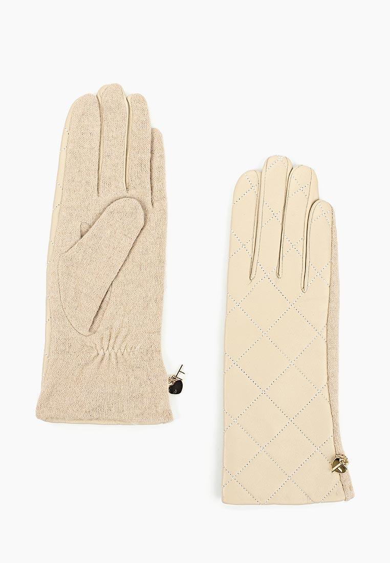 Женские перчатки Fabretti (Фабретти) 3.23-5 beige