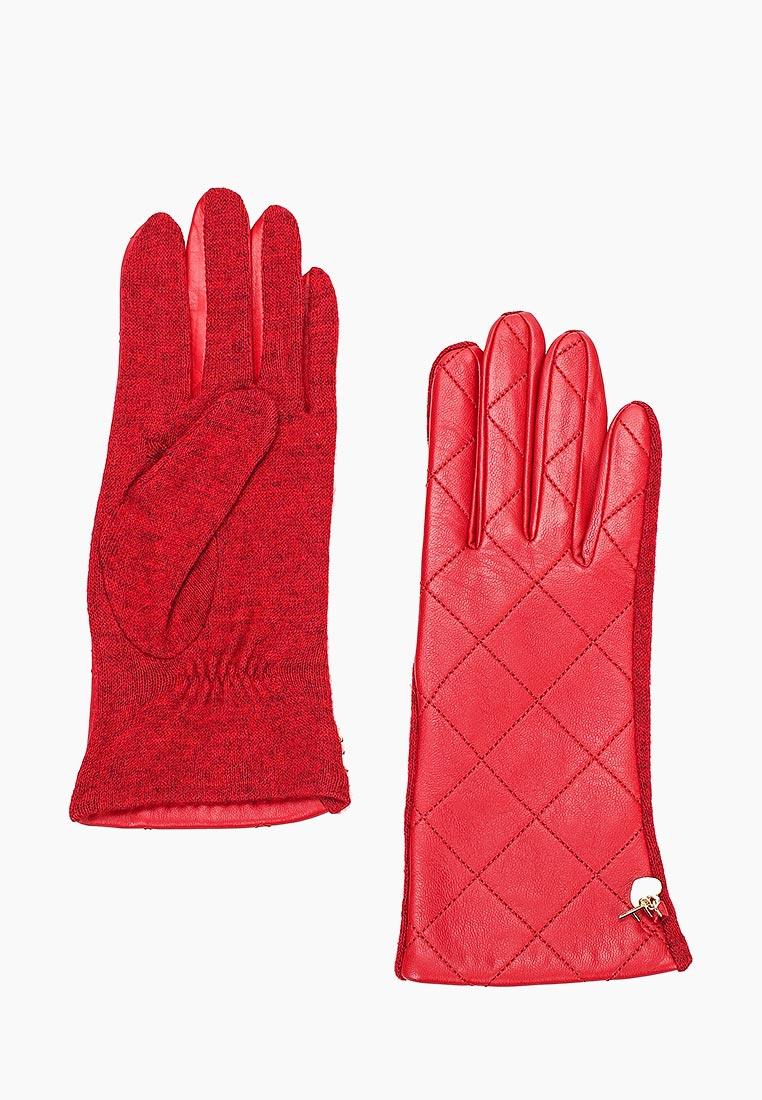 Женские перчатки Fabretti (Фабретти) 3.23-7 red