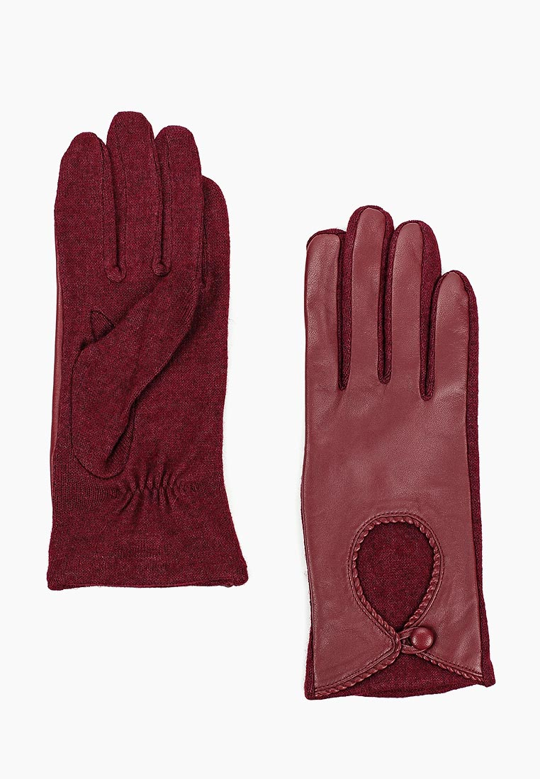 Женские перчатки Fabretti (Фабретти) 3.3-8 bordo