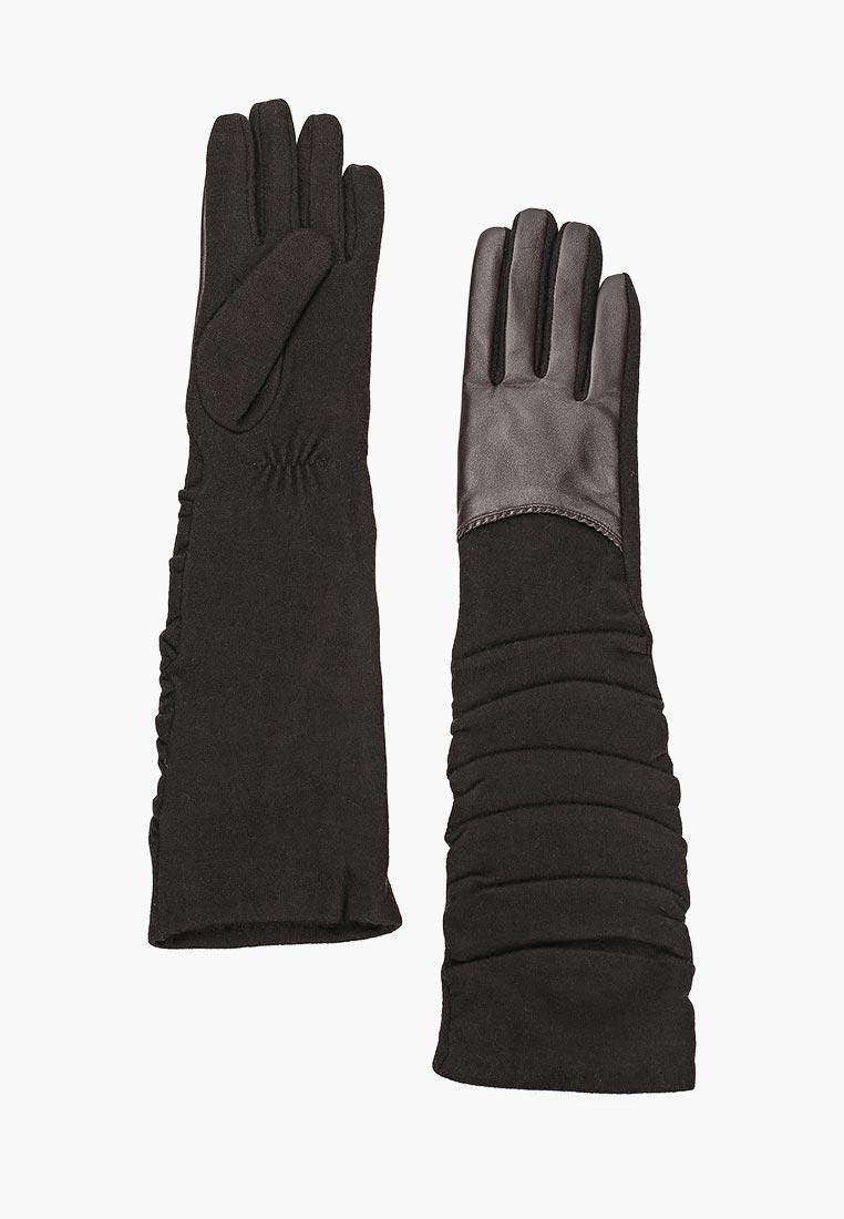 Женские перчатки Fabretti (Фабретти) 3.4-2 chocolate