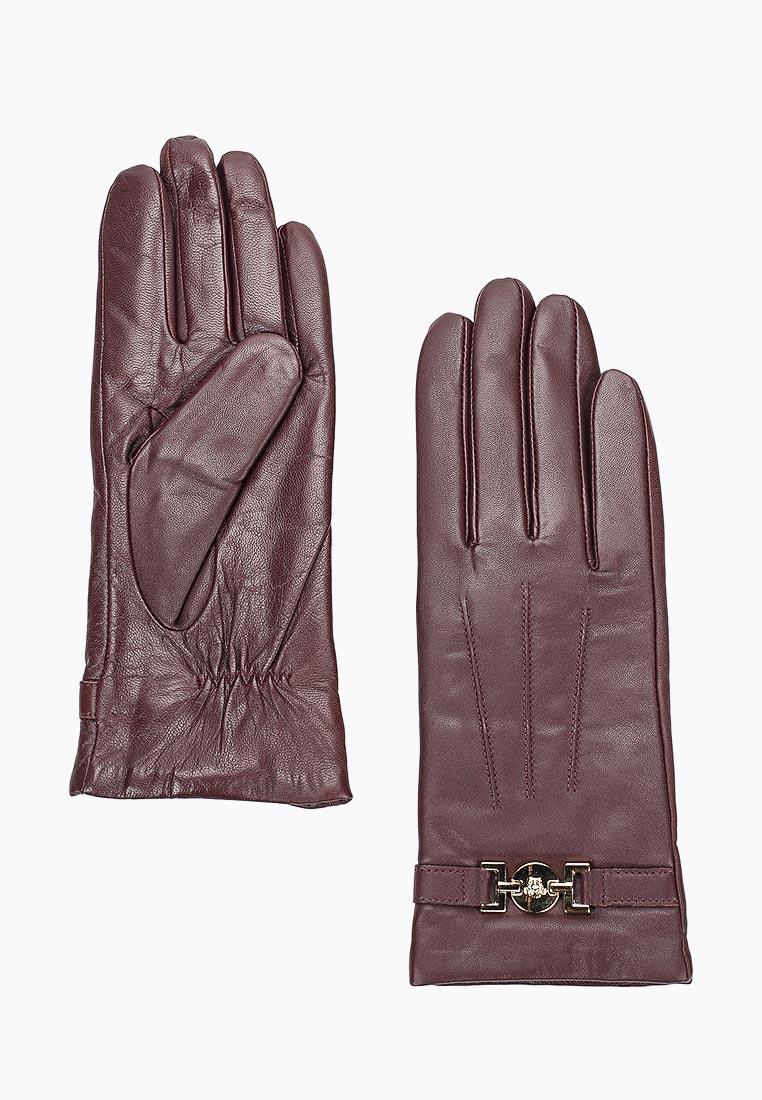 Женские перчатки Fabretti (Фабретти) B4-8 bordo