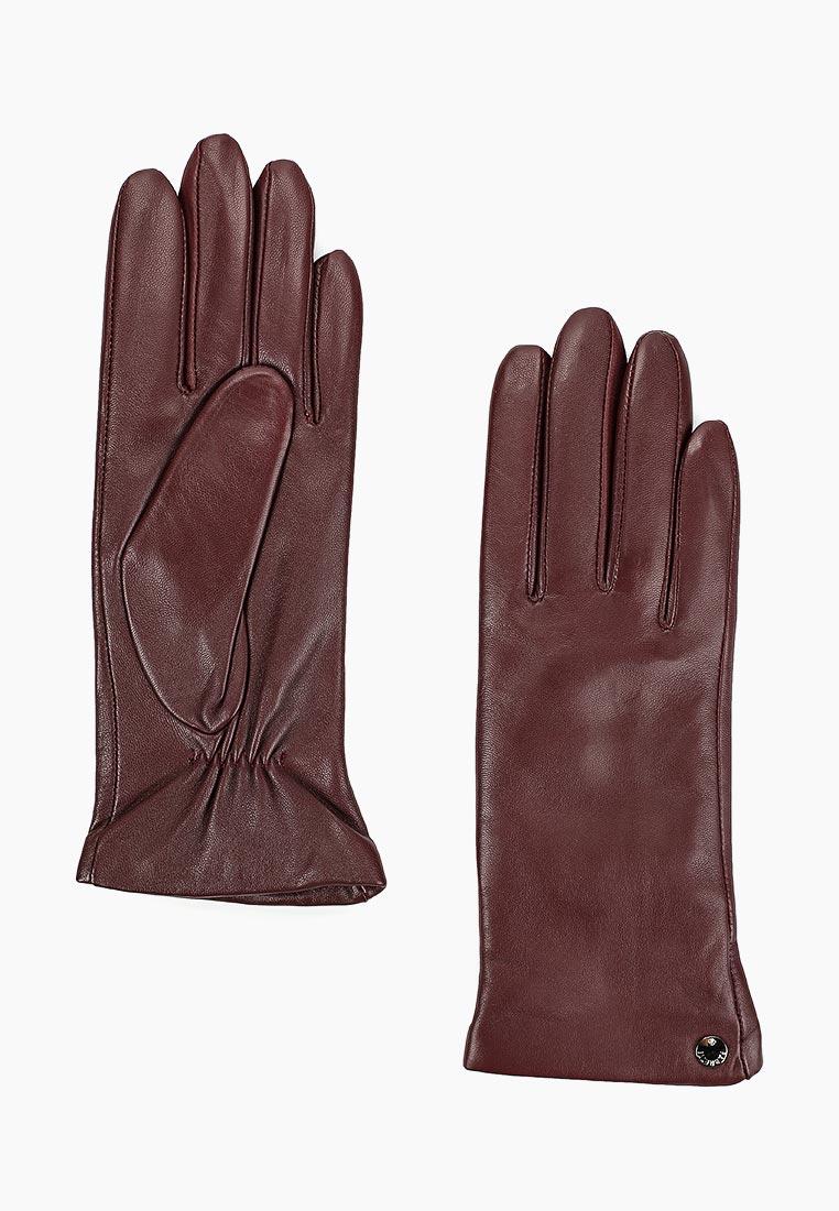 Женские перчатки Fabretti (Фабретти) F14-8 bordo