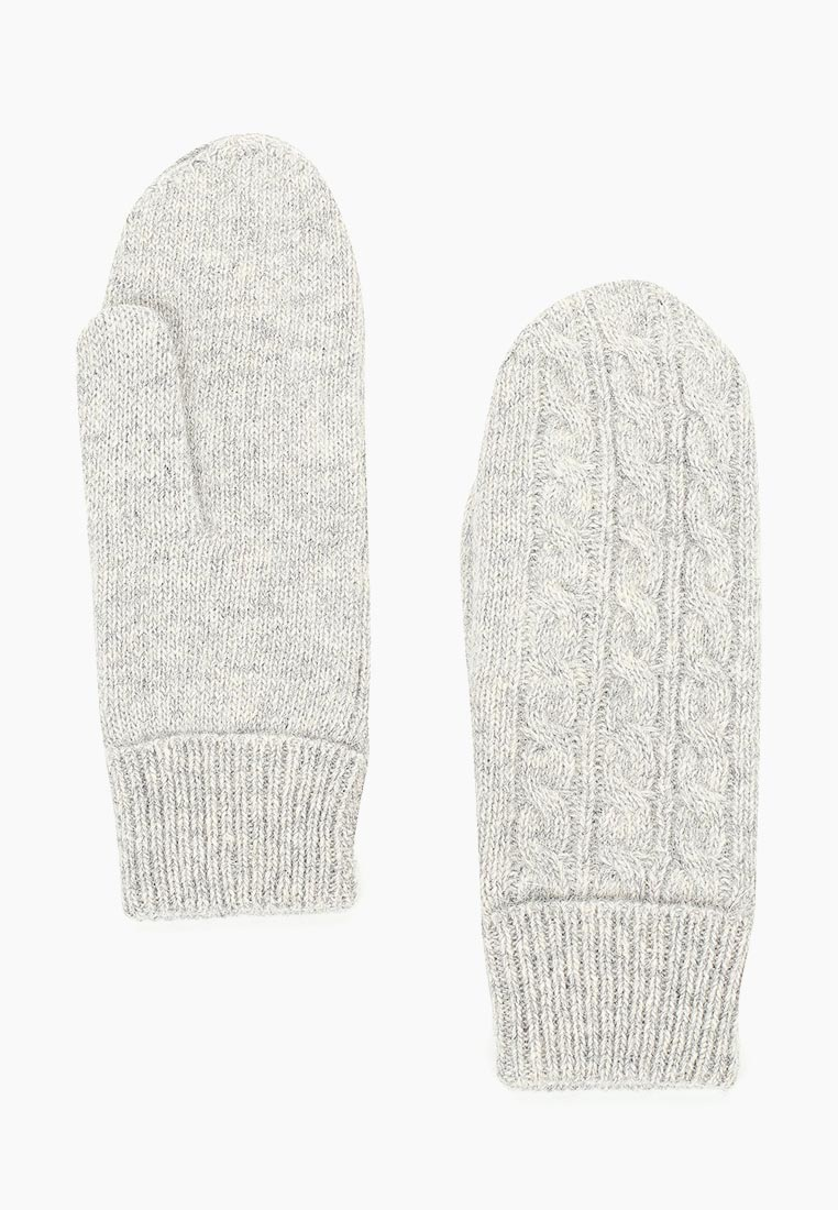 Женские варежки Fabretti (Фабретти) H2018-1-lt.gray