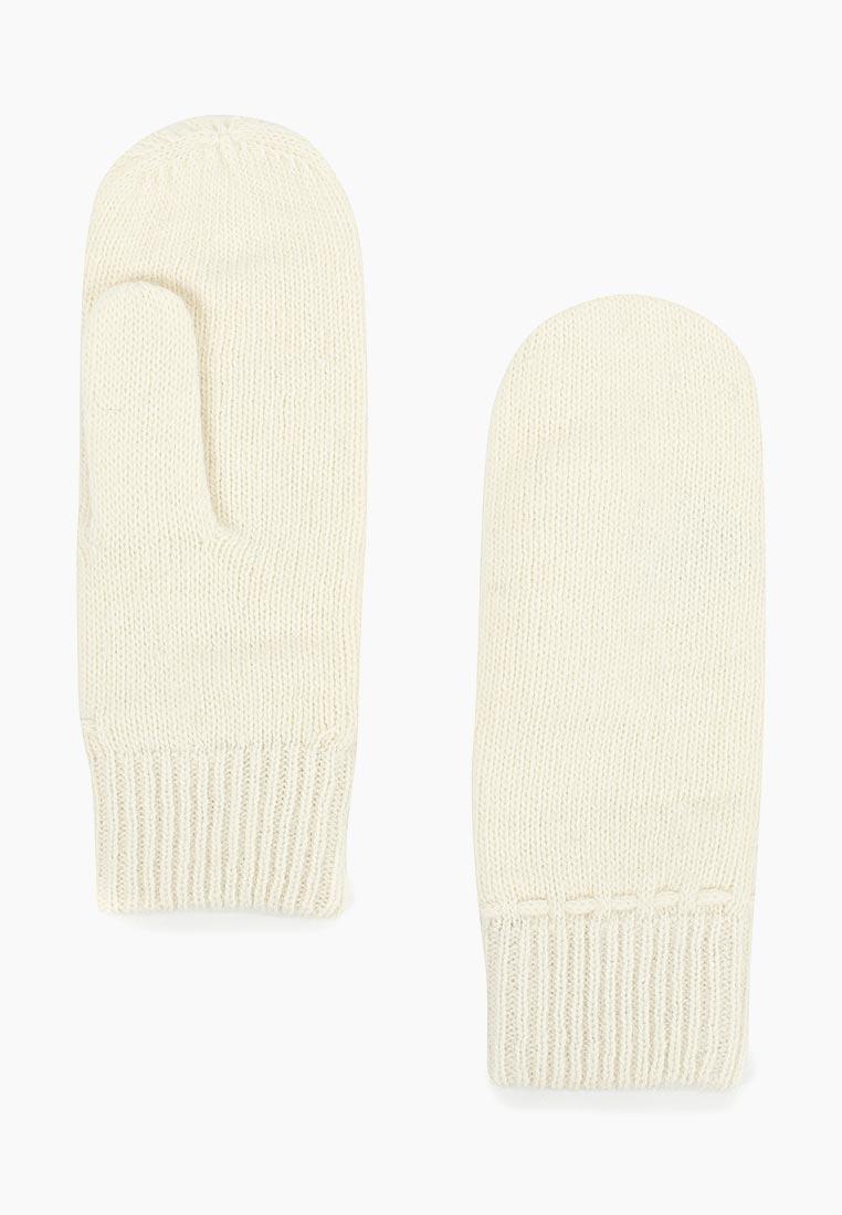 Женские варежки Fabretti (Фабретти) H2018-2-white