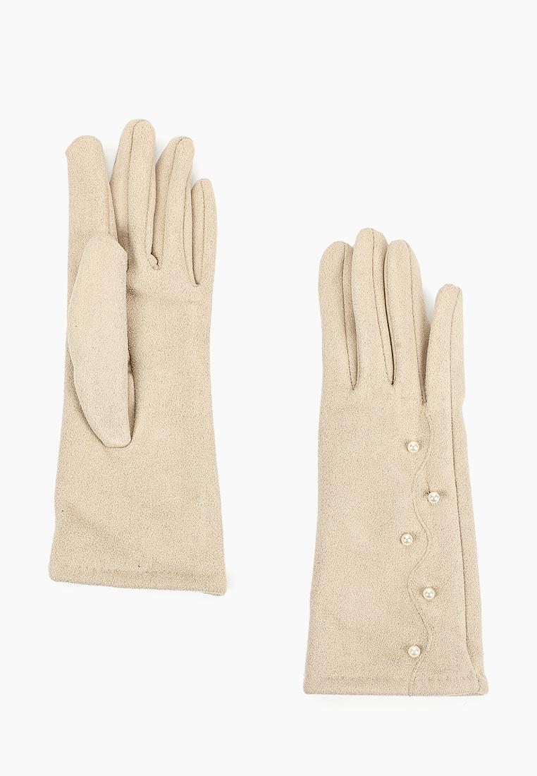 Женские перчатки Fabretti (Фабретти) HB2018-26-beige