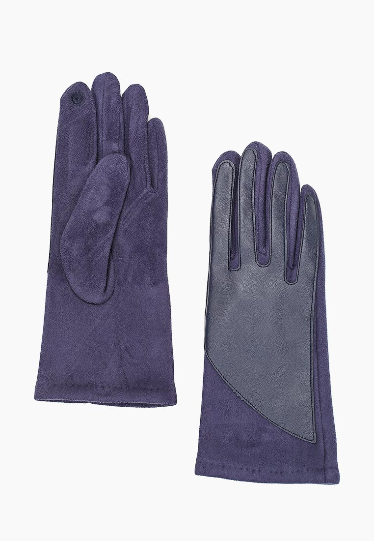 Женские перчатки Fabretti (Фабретти) HB2018-3-dark navy