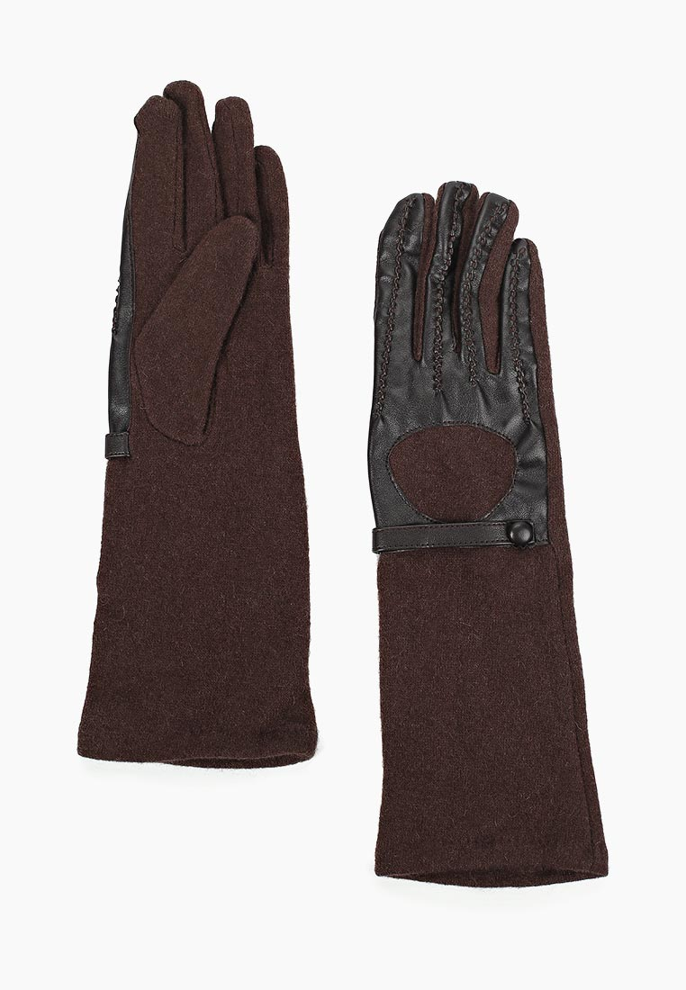 Женские перчатки Fabretti (Фабретти) HB2018-9-brown
