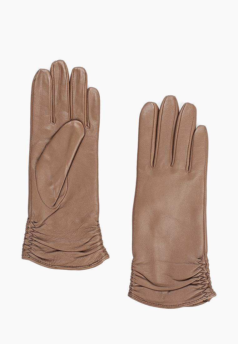 Женские перчатки Fabretti (Фабретти) 12.25-22 dark beige