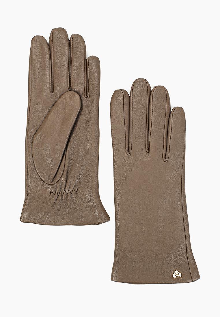 Женские перчатки Fabretti (Фабретти) 12.77-10 taupe
